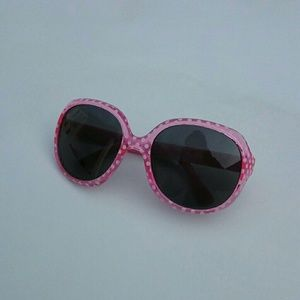 Kids Sunglasses NEW uv 400 Pink polka dot
